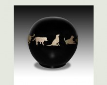 DOG BALL PET URN-ULA03