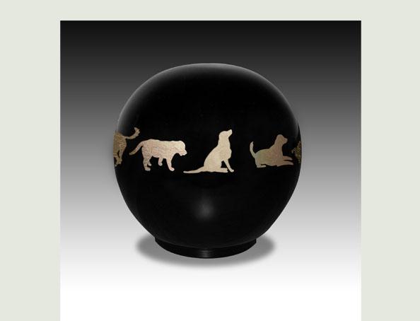 DOG BALL PET URN-ULA03