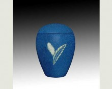 FEATHER BLUE infant SAND urn-UL054A
