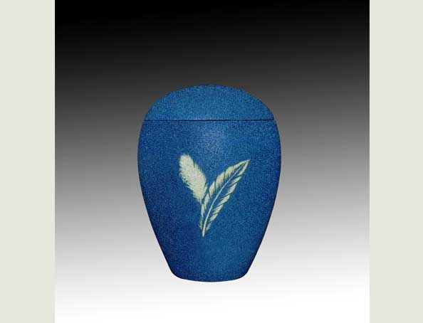 PLUM BLUE infant SAND urn-UL054A