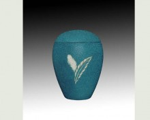 FEATHER GREEN infant SAND urn-UL054B