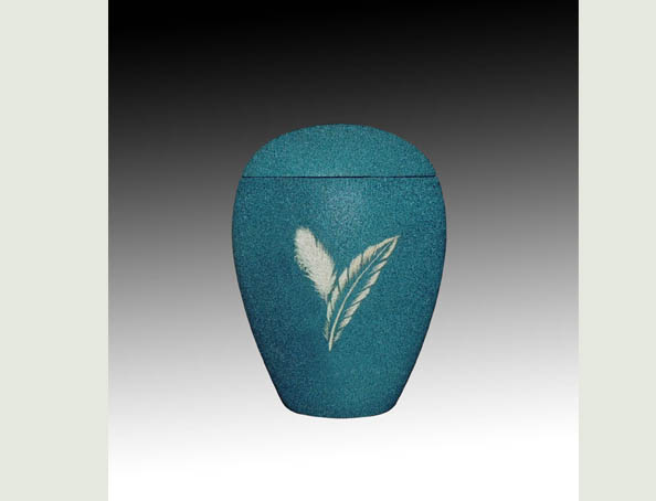 PLUM GREEN infant SAND urn-UL054B