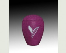 FEATHER PINK infant SAND urn-UL054C