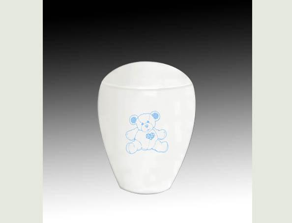 TEDDY BEAR BLUE INFANT URN-UL055A