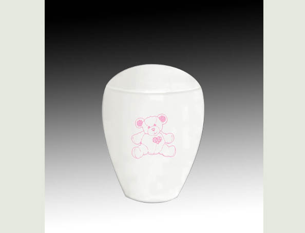 TEDDY BEAR PINK INFANT URN-UL055B