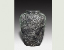 DORIS BLACK MARBLE URN-UP012A