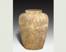 DORIS VANILLA MARBLE URN-UP012C